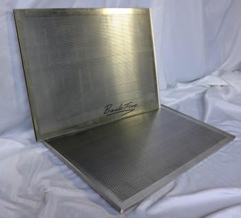 Plaques à pâtisserie en aluminium perforées 3 bords NOUVEAU