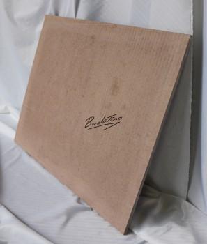Plaque de cuisson / plaque de pierre / plaque de four pour caille 600x490x15mm NOUVEAU
