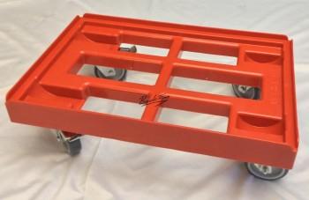 Chariot de transport Chariot de transport pour caisses 60 x 40 cm avec 2 freins